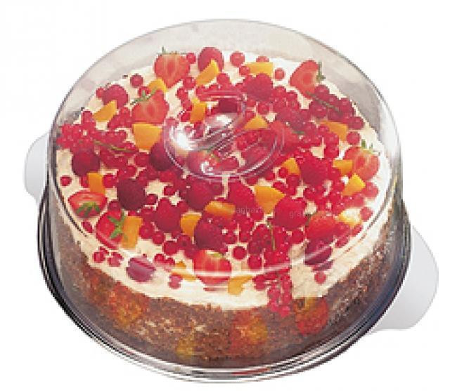 Поднос для торта с крышкой